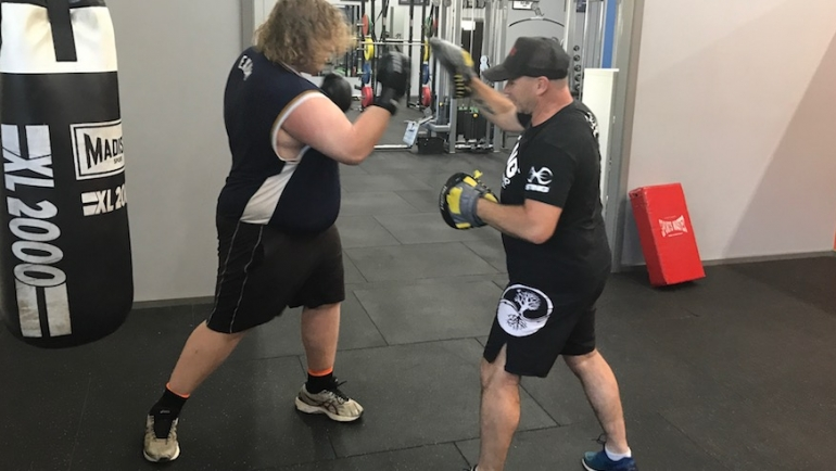 Fighting for fitness