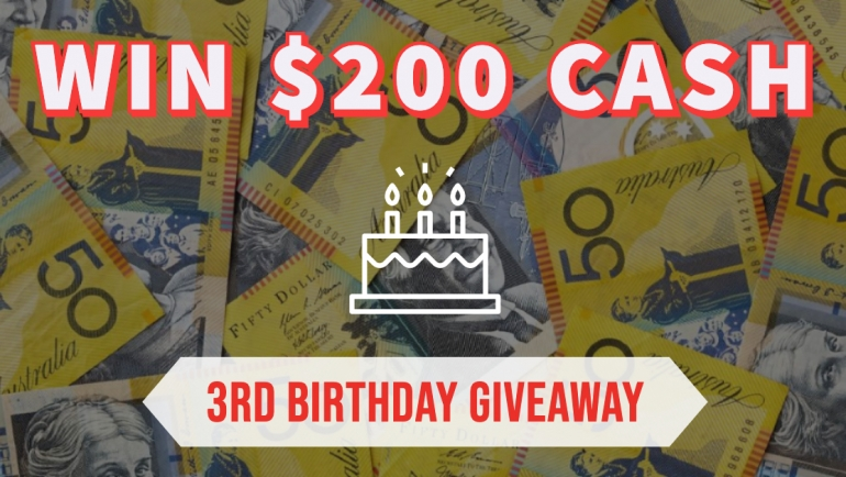 Win $200 | 3rd Birthday Celebrations