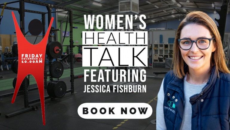 Women's Health Talk | Friday December 11